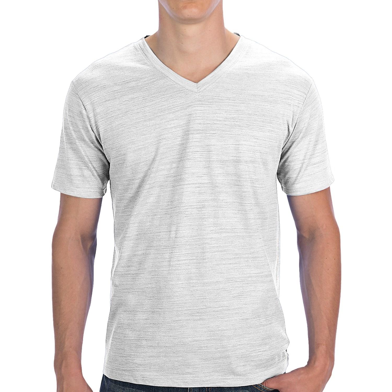 Threads 4 thought basic v neck slub t shirt for men for What is a slub shirt