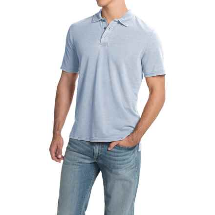 Threads 4 Thought Blake Polo Shirt - Organic Cotton, Short Sleeve (For Men) in Ballad Blue - Closeouts