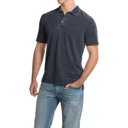 Threads 4 Thought Blake Polo Shirt - Organic Cotton, Short Sleeve (For Men) in Blue Nights - Closeouts