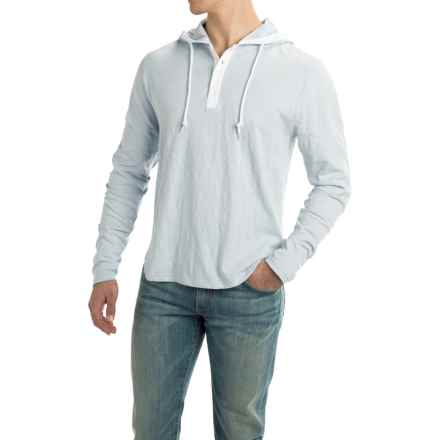 Threads 4 Thought Boardwalk Hooded Shirt - Long Sleeve (For Men) in Ballad Blue - Closeouts