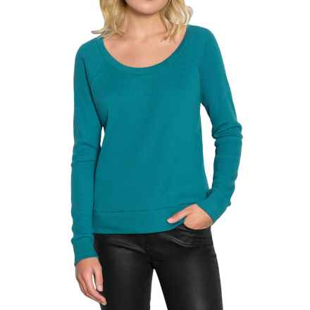 Threads 4 Thought Breck Waffle Shirt - Organic Cotton, Long Sleeve (For Women) in Poseidon - Closeouts