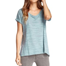 Threads 4 Thought Brigitte T-Shirt - Organic Cotton, Short Sleeve (For Women) in Blue Topaz - Closeouts