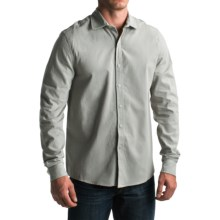 Threads 4 Thought Brushed Chambray Shirt - Organic Cotton, Long Sleeve (For Men) in Smoke Grey - Closeouts