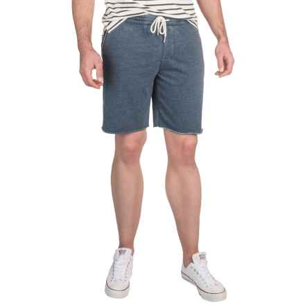 Threads 4 Thought Burnout Sweat Shorts (For Men) in Darky Berry - Closeouts