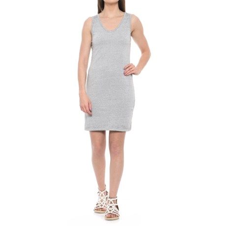 Threads 4 Thought Cailin Dress - V-Neck, Sleeveless (For Women) in Pewter