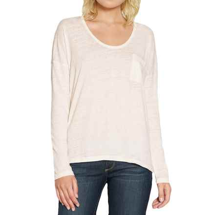 Threads 4 Thought Clementine T-Shirt - Organic Cotton Blend, Long Sleeve (For Women) in Gardenia - Closeouts