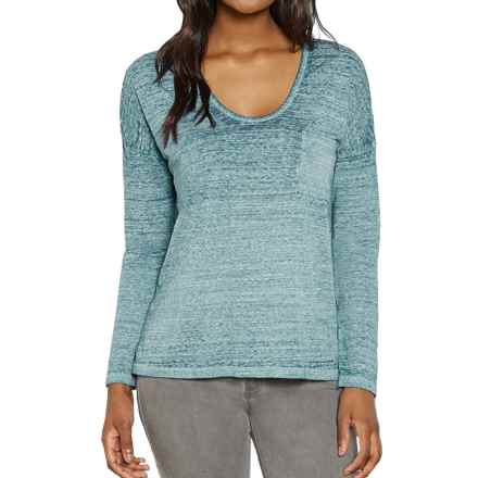 Threads 4 Thought Clementine T-Shirt - Organic Cotton Blend, Long Sleeve (For Women) in Poseidon - Closeouts