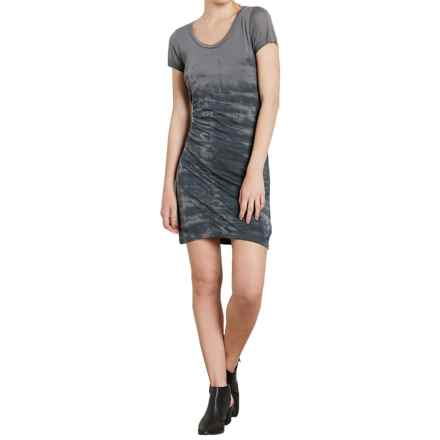 Threads 4 Thought Dina Dress - Modal, Short Sleeve (For Women) in Magnet Grey - Closeouts