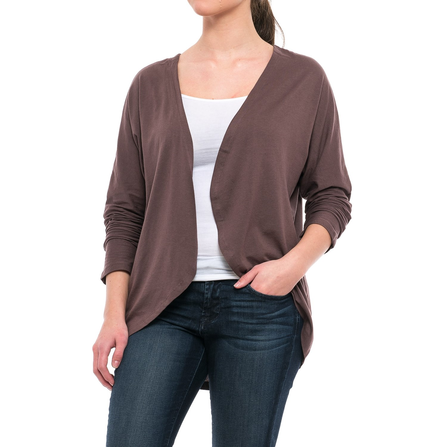 Threads 4 Thought Drapey Cardigan Shirt (For Women) - Save 56%