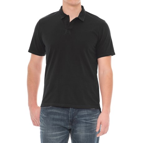 Threads 4 Thought Dune Polo Shirt - Short Sleeve (For Men) in Black