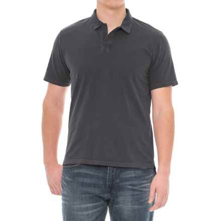 Threads 4 Thought Dune Polo Shirt - Short Sleeve (For Men) in Periscope - Closeouts