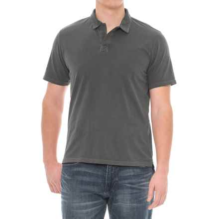 Threads 4 Thought Dune Polo Shirt - Short Sleeve (For Men) in Quite Shade - Closeouts