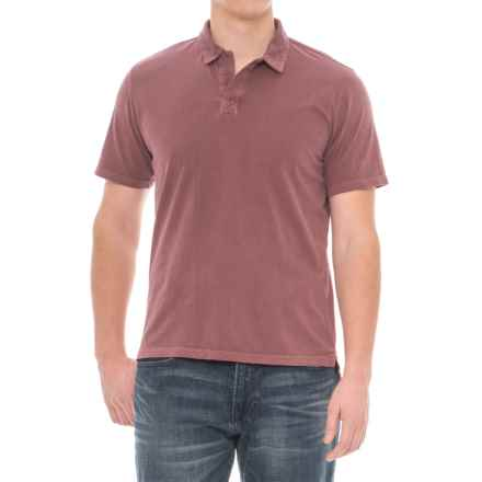 Threads 4 Thought Dune Polo Shirt - Short Sleeve (For Men) in Syrah - Closeouts