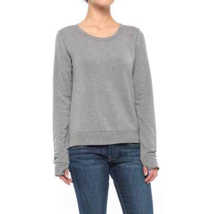 Threads 4 Thought Erin Shirt - Long Sleeve (For Women) in Heather Steel - Closeouts