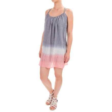 Threads 4 Thought Esme Crisscross Spaghetti-Strap Dress - Sleeveless (For Women) in Indigo Grey - Closeouts