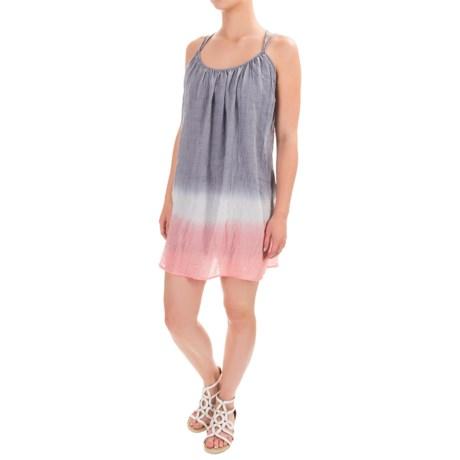 Threads 4 Thought Esme Crisscross Spaghetti-Strap Dress - Sleeveless (For Women) in Indigo Grey