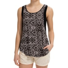 Threads 4 Thought Eva Tank Top - Modal (For Women) in Charcoal - Closeouts