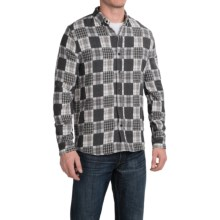 Threads 4 Thought Flannel Shirt - Organic Cotton, Long Sleeve (For Men) in Black/White - Closeouts