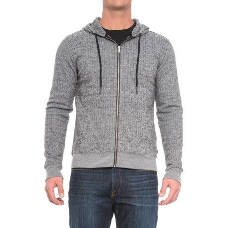 Threads 4 Thought Herringbone Hoodie (For Men)