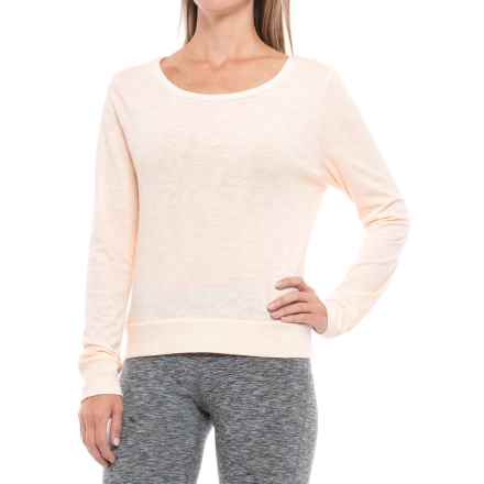Threads 4 Thought Ivana Shirt - Organic Cotton-Lenzing Modal®, Long Sleeve (For Women) in Gardenia - Closeouts