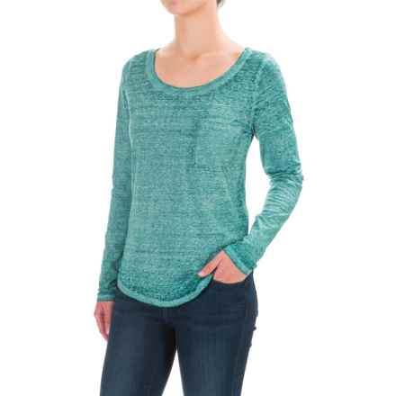 Threads 4 Thought Jala Signature Vintage T-Shirt - Organic Cotton, Long Sleeve (For Women) in Emerald - Closeouts
