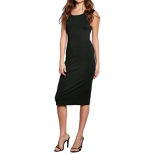 Threads 4 Thought Kai Twisted Open-Back Dress - Sleeveless (For Women) in Black - Closeouts