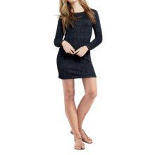 Threads 4 Thought Kaia Sweater Dress - Organic Cotton, Long Sleeve (For Women) in Navy - Closeouts