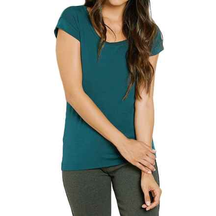 Threads 4 Thought Klara Shirt - Open Back, Cap Sleeve (For Women) in Dragonfly - Closeouts