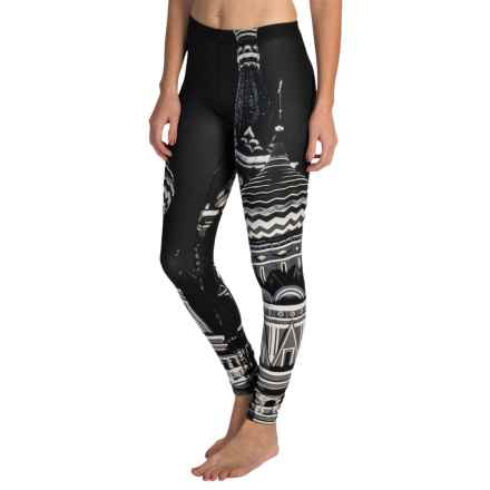 Threads 4 Thought Kona Leggings (For Women) in Black/White - Closeouts