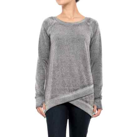 Threads 4 Thought Leanna Tunic Sweatshirt - Organic Cotton Blend (For Women) in Black - Closeouts