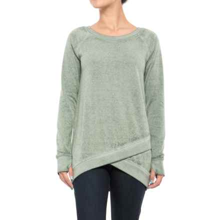 Threads 4 Thought Leanna Tunic Sweatshirt - Organic Cotton Blend (For Women) in Olive - Closeouts