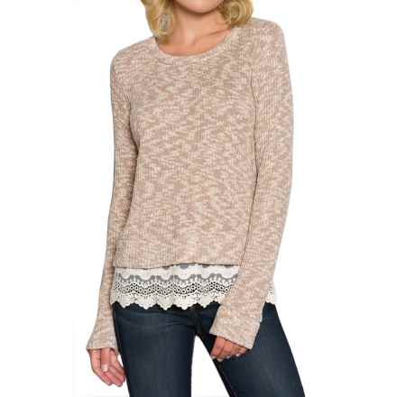 Threads 4 Thought Lexi Sweater - Organic Cotton, Long Sleeve (For Women) in Latte - Closeouts