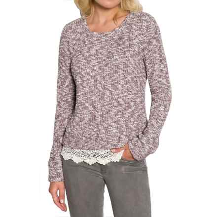 Threads 4 Thought Lexi Sweater - Organic Cotton, Long Sleeve (For Women) in Rum Raisin - Closeouts