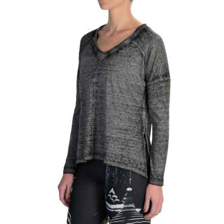 Threads 4 Thought Linley Shirt - Organic Cotton, Long Sleeve (For Women) in Charcoal - Closeouts