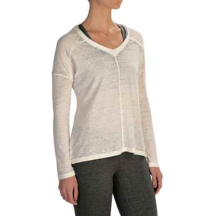 Threads 4 Thought Linley T-Shirt - Organic Cotton, Long Sleeve (For Women) in Vanilla - Closeouts