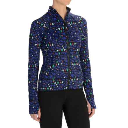 Threads 4 Thought Lori Zip-Up Jacket (For Women) in Neptune Combo - Closeouts