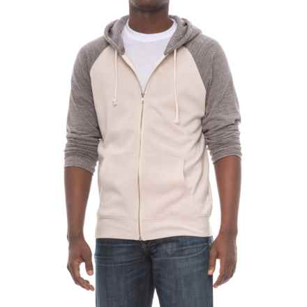 Threads 4 Thought Malibu Zip Hoodie (For Men) in Birch/Heather Grey - Closeouts