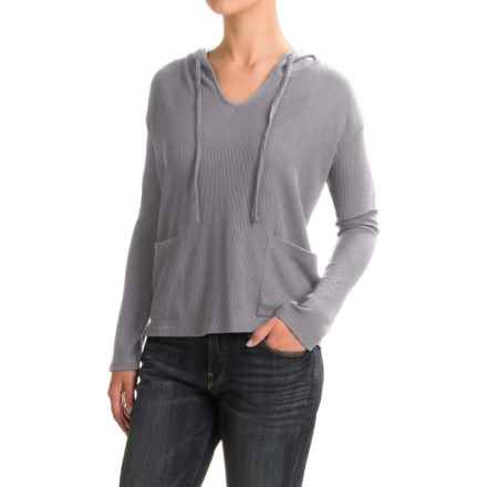 Threads 4 Thought Mariha Thermal Hoodie Shirt - Long Sleeve (For Women) in Pewter - Closeouts