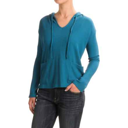 Threads 4 Thought Mariha Thermal Hoodie Shirt - Long Sleeve (For Women) in Poseidon - Closeouts