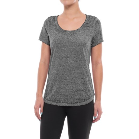 Threads 4 Thought Maven T-Shirt - Organic Cotton Blend, Short Sleeve (For Women) in Black