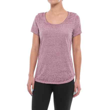 Threads 4 Thought Maven T-Shirt - Organic Cotton Blend, Short Sleeve (For Women) in Dusty Plum - Closeouts