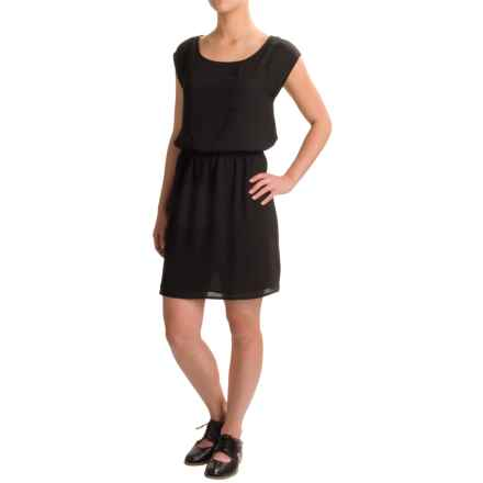 Threads 4 Thought Maya Dress - Short Sleeve (For Women) in Black - Closeouts