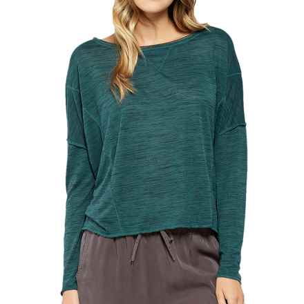 Threads 4 Thought Micah Shirt - Long Sleeve (For Women) in Dark Rainforest - Closeouts