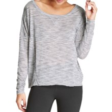 Threads 4 Thought Micah Shirt - Long Sleeve (For Women) in Moon Stone - Closeouts