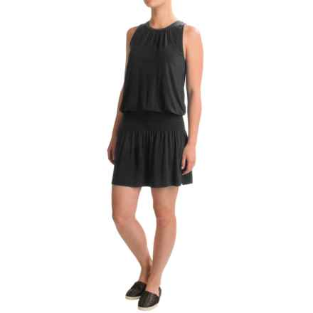 Threads 4 Thought Mya Dress - Modal, Sleeveless (For Women) in Black - Closeouts