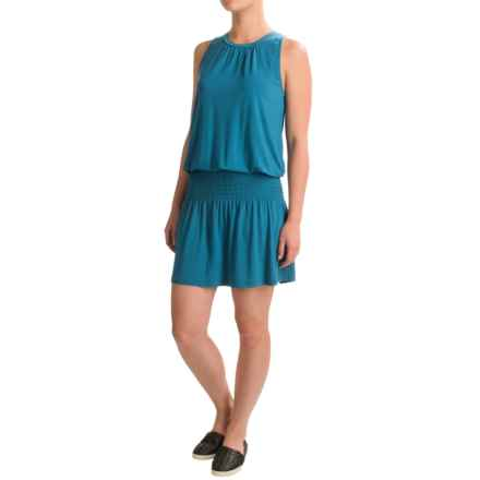 Threads 4 Thought Mya Dress - Modal, Sleeveless (For Women) in Peacock - Closeouts