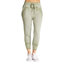 Threads 4 Thought Offshore Harem Capri Joggers - Organic Cotton (For Women) in Military - Overstock