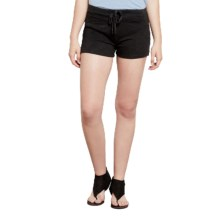 Threads 4 Thought Padma Shorts - Organic Cotton (For Women) in Black - Overstock