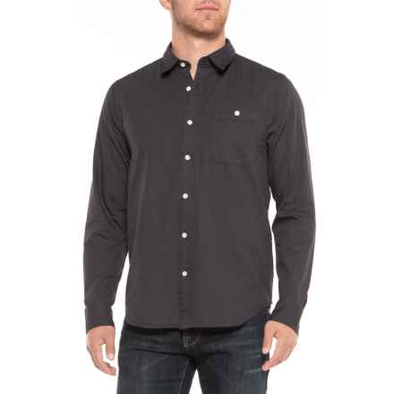 Threads 4 Thought Periscope Poplin Shirt - Long Sleeve (For Men) in Periscope - Closeouts