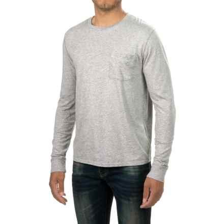 Threads 4 Thought Pocket Shirt - Organic Cotton, Long Sleeve (For Men) in Marled Grey - Closeouts